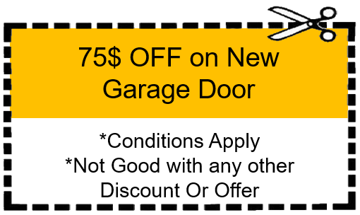 New Garage Door Coupon