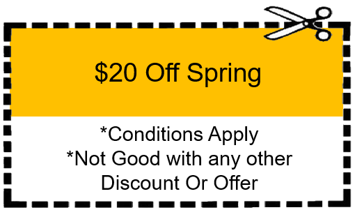 New Garage Door Springs Coupon